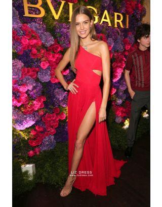 c867fd6e79 Add to Cart. Quick Shop Add to Compare. Add to Wish List. Josephine Skriver Red  Prom Celebrity Dress Pre-Oscar ...