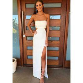 Formal Prom Dress with Slit Pinterest