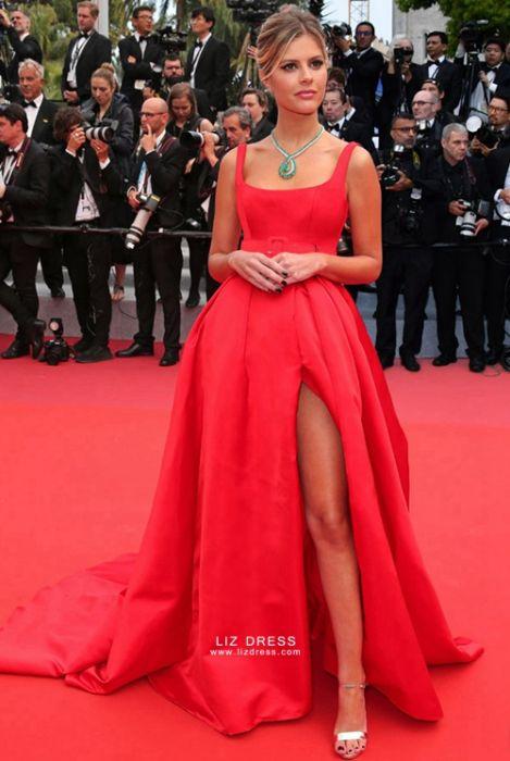 red dress celebrity 2019