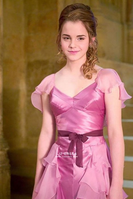 Hermione Granger Pink Dress Yule Ball Harry Potter Costume For Sale