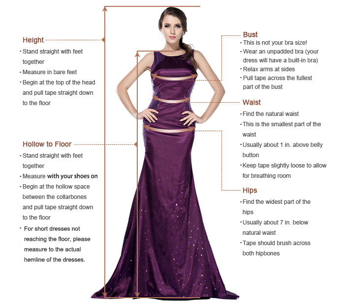 LizDress measuring guide
